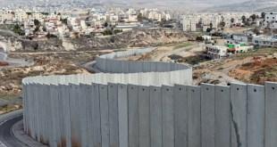 Tembok rasis di Palestina. (alresalah.ps)