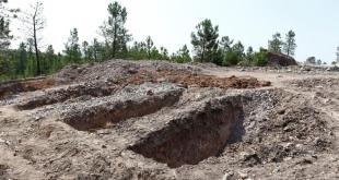 Lokasi 'pemakaman pengkhianat'. (aljazeera)
