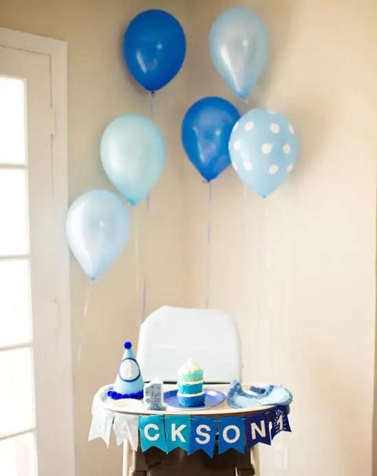Ideas para decorar la silla del bebé en su primer cumpleaños