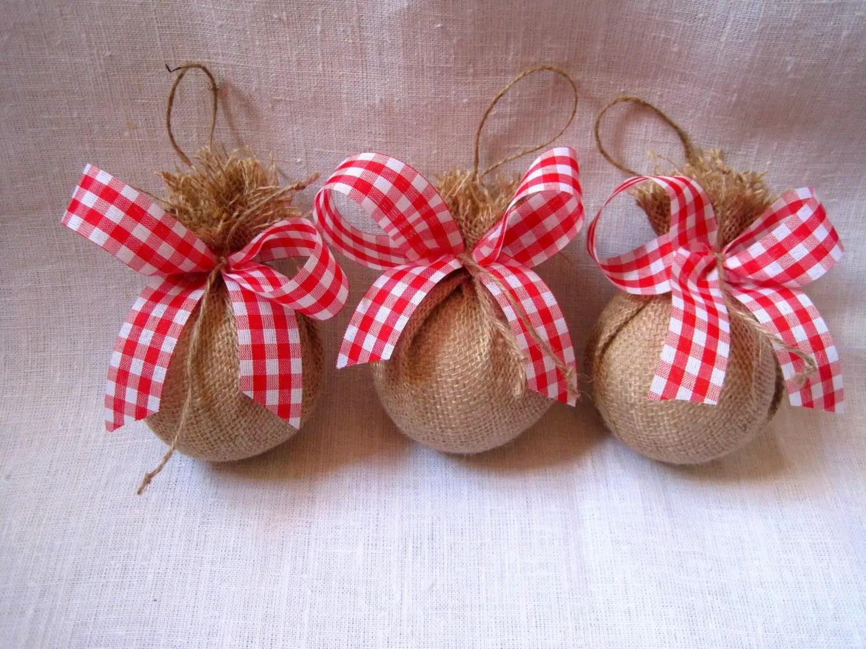 Manualidades hechas con yute arpillera o burlap for Manualidades para casa rustica