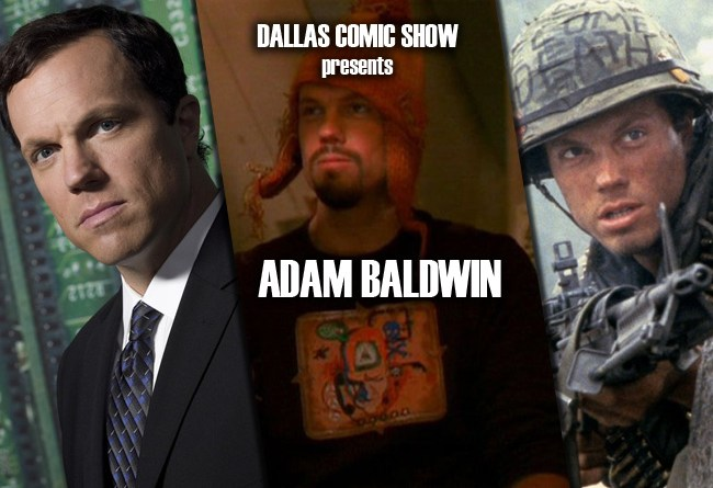 FIREFLY and THE LAST SHIP star Adam Baldwin comes to DCS August 6-7