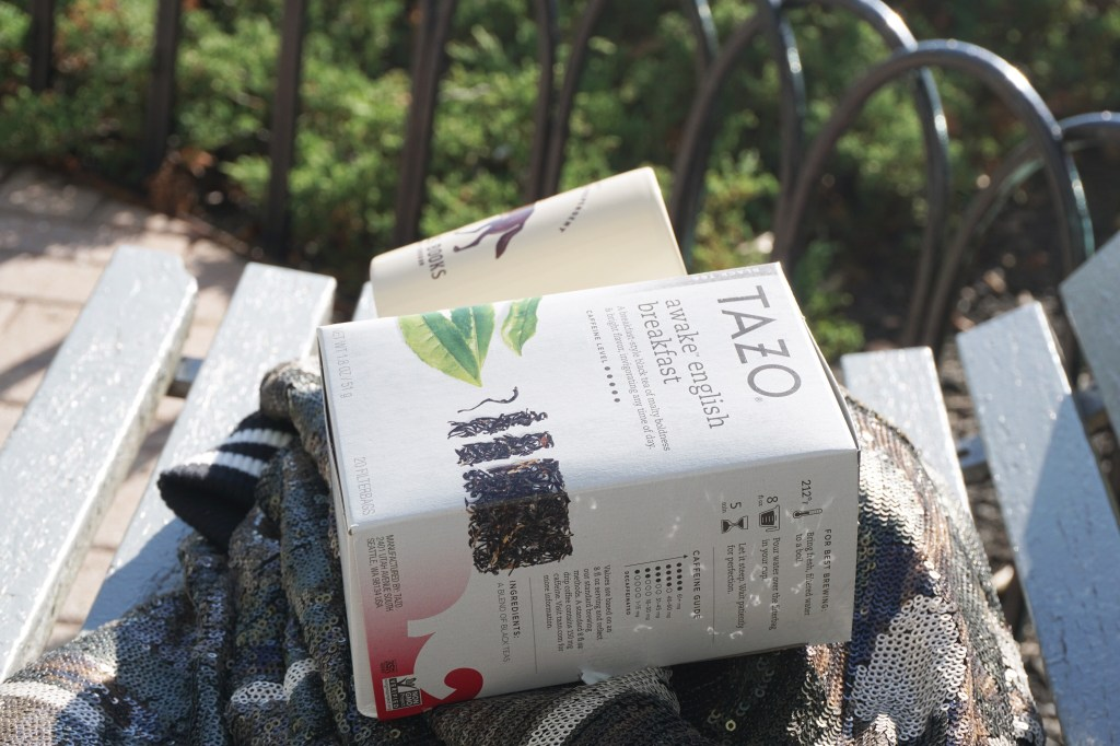 An Afternoon Break with Tazo Tea