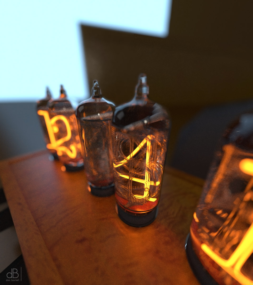 Nixie Time Machine