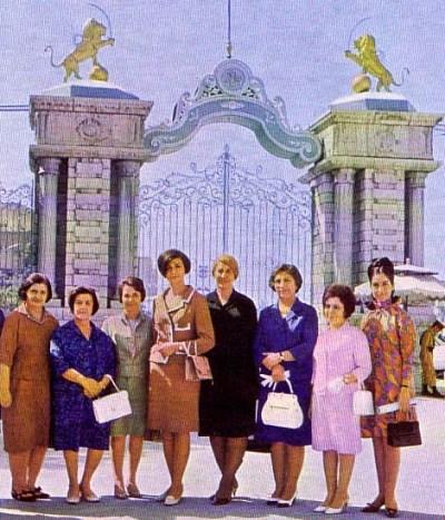 Female parliamentarians in mid-1970s Tehran