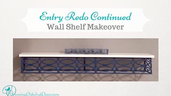 Wall Shelf Update