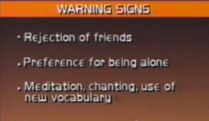 Geraldo Rivera warning signs satanism