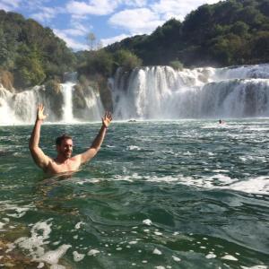 Mike Waterfalls Krka