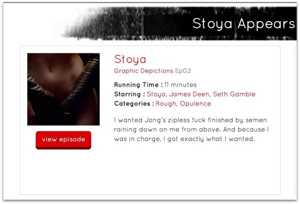 Stoya James Deen scence rape.52 AM
