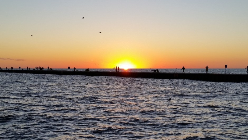 South Haven Sunset - South Beach