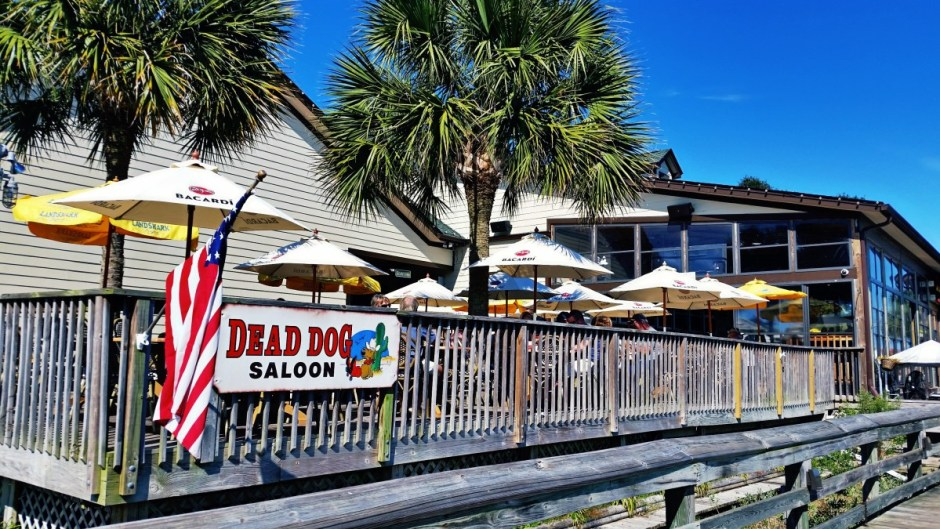 Patio at Dead Dog Saloon