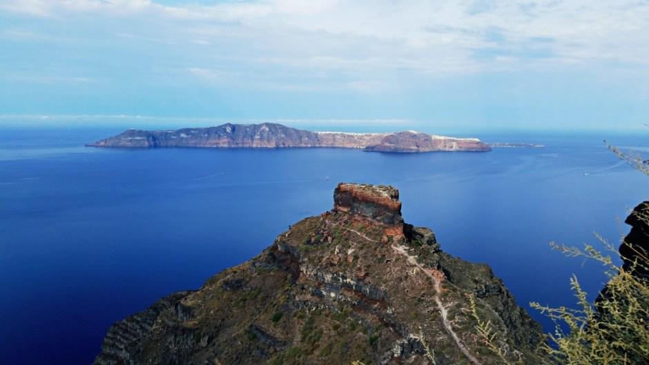 Skaros Rock - Santorini Hike