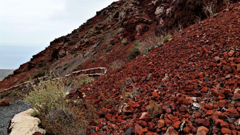 Volcanic Rock - Santorini Hike