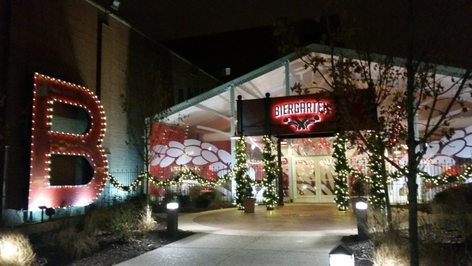 St. Louis Brewery Christmas Lights Galore
