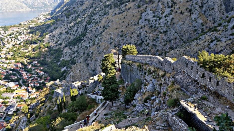 Hiking Views Kotor Montenegro