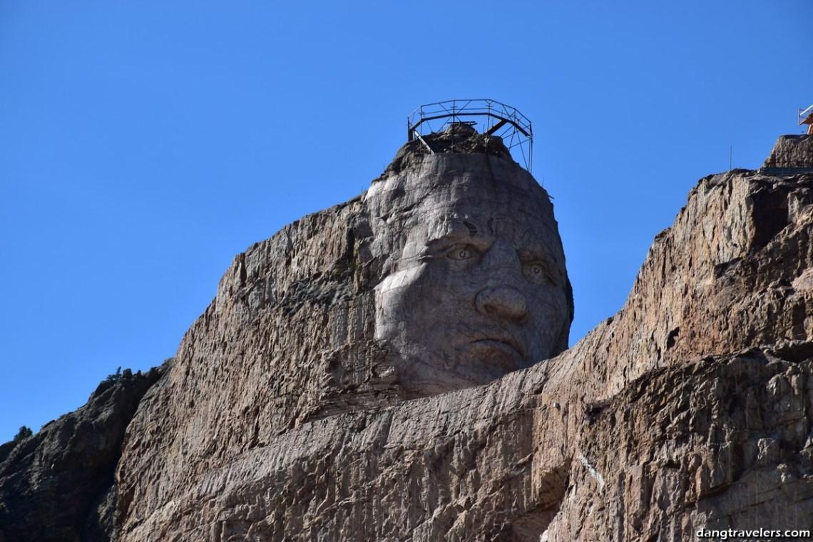Crazy Horse Head