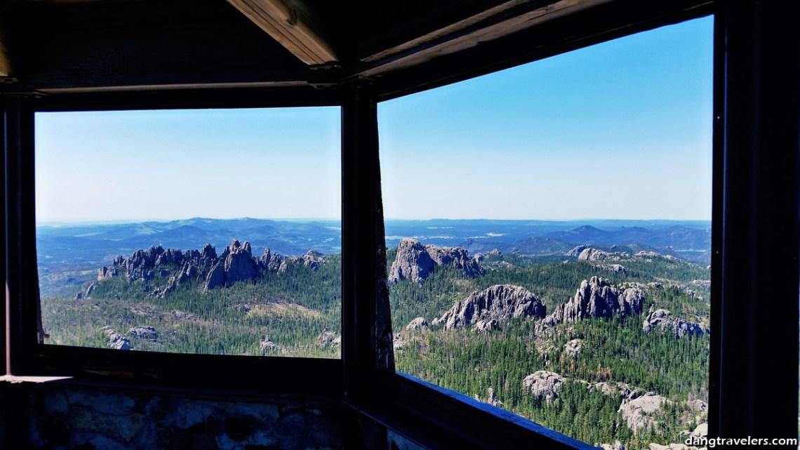 Harney Peak Tower Windows