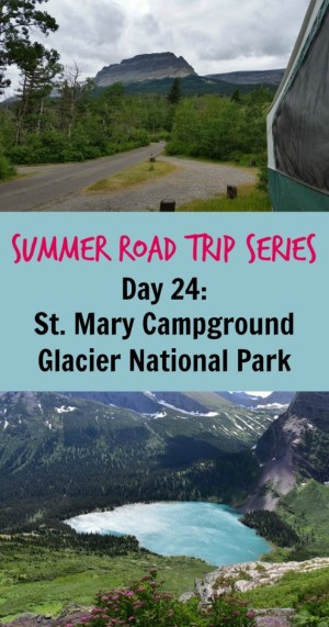 St. Mary Campground Pin