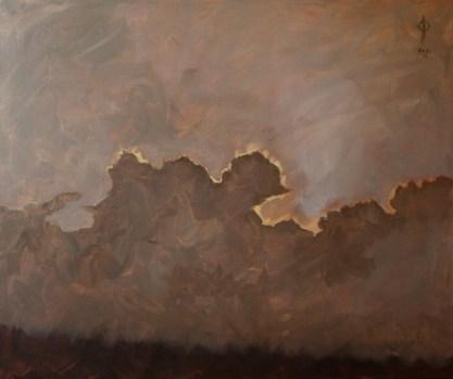 Ter Streep- East End I, oil on canvas, 50x60cm, 2014