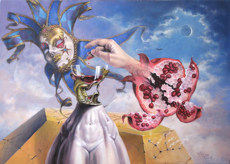 Fine_art-Surrealist-Oil_on_canvas_painting-The_last_love_of-Don_Juan
