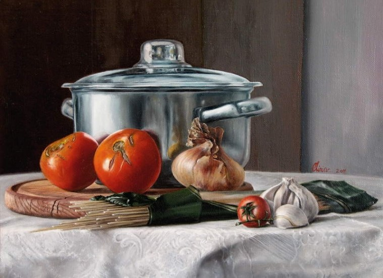 Tomato-spaghetti-pot-still_life-oil_painting