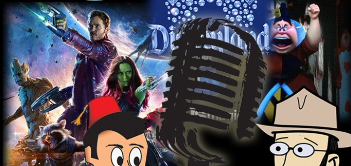 Disneyland's 59th Anniversary, Guardians, Alice, and College Band! - DAPscast - Episode 6