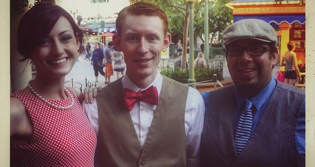 2014 Fall Dapper Day Descends on Disneyland