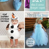 DIY Frozen Costumes Ideas