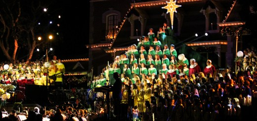 Candlelight Processional and Ceremony - Disneyland Holiday Time - December 6, 2014-163
