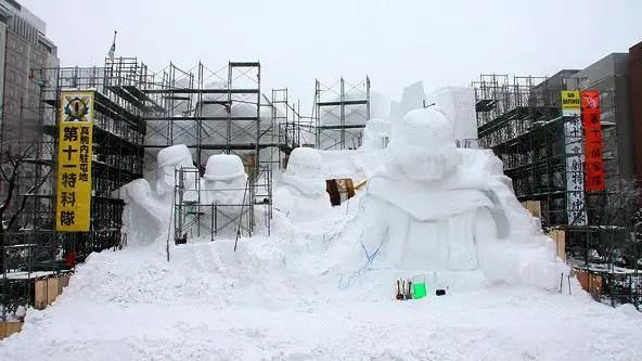 Snow Star Wars