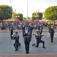 Fourth of July Weekend to Feature Military Performances at the Disneyland Resort