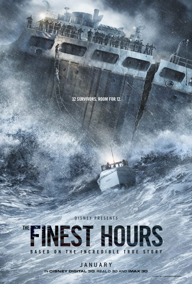 "Disney's ""The Finest Hours"" Movie Poster"