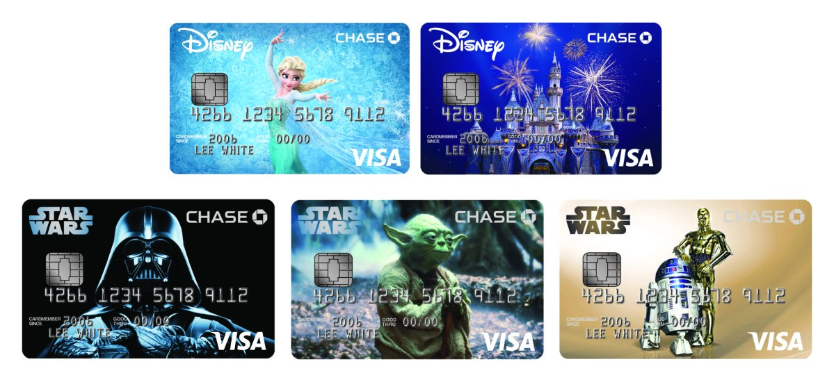 Chase to Offer New Star Wars Disney Visa Credit Card Designs & Perks