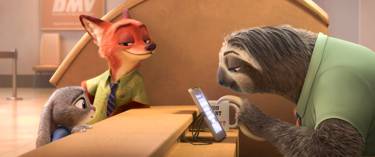 Walt Disney Animation Studios Shares New 'Zootopia' Trailer - Official Sloth Trailer