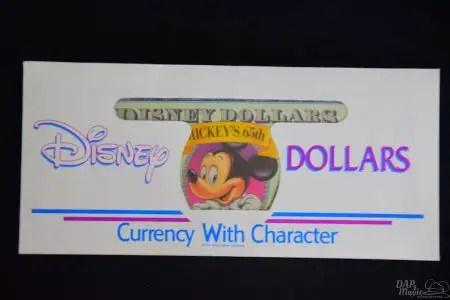 DisneyDollars 1