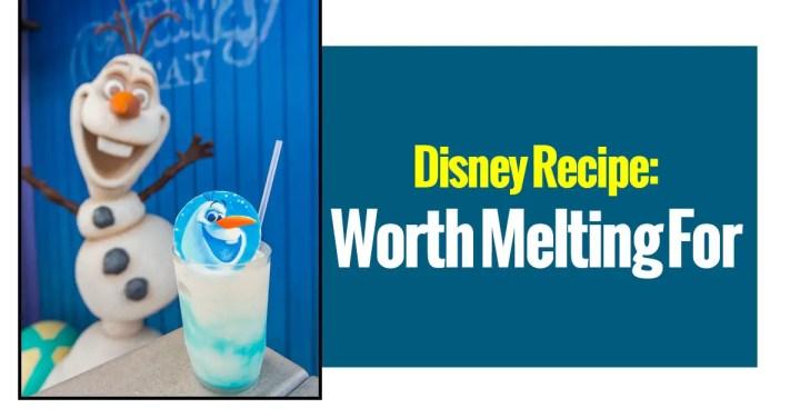 Disney Recipes: Worth Melting For