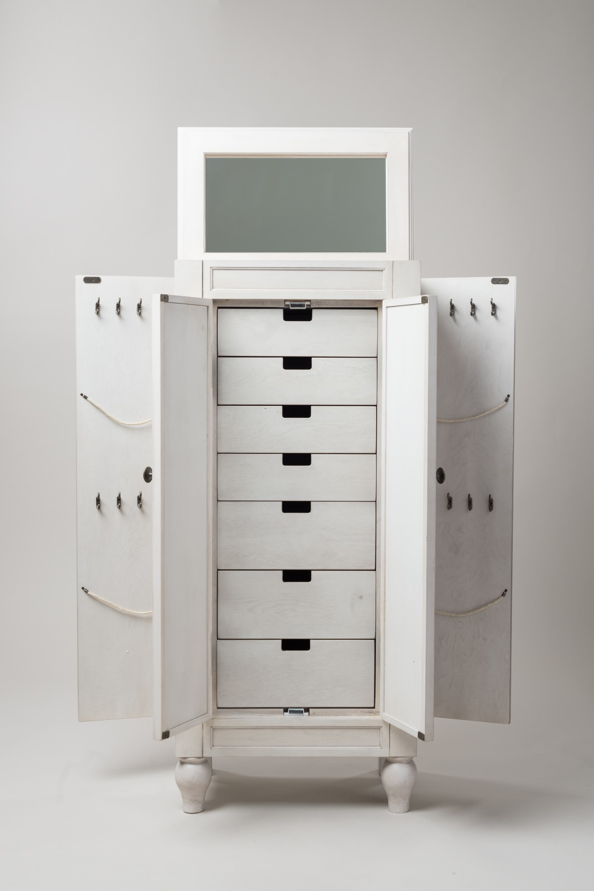 Pictures Of Celine Jewelry Armoire  Century White White Jewelry Armoire With Drawers0