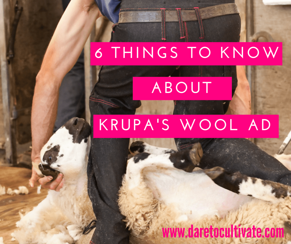 6 Things To Know About Krupa's Wool Ad