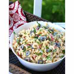 Small Crop Of Dill Pickle Pasta Salad
