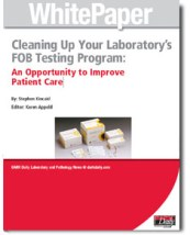 white paper on laboratory FOB testing