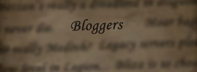 """Piece of parchment with """"Blog Scroll"""" visible and various other blurry statements around it."""