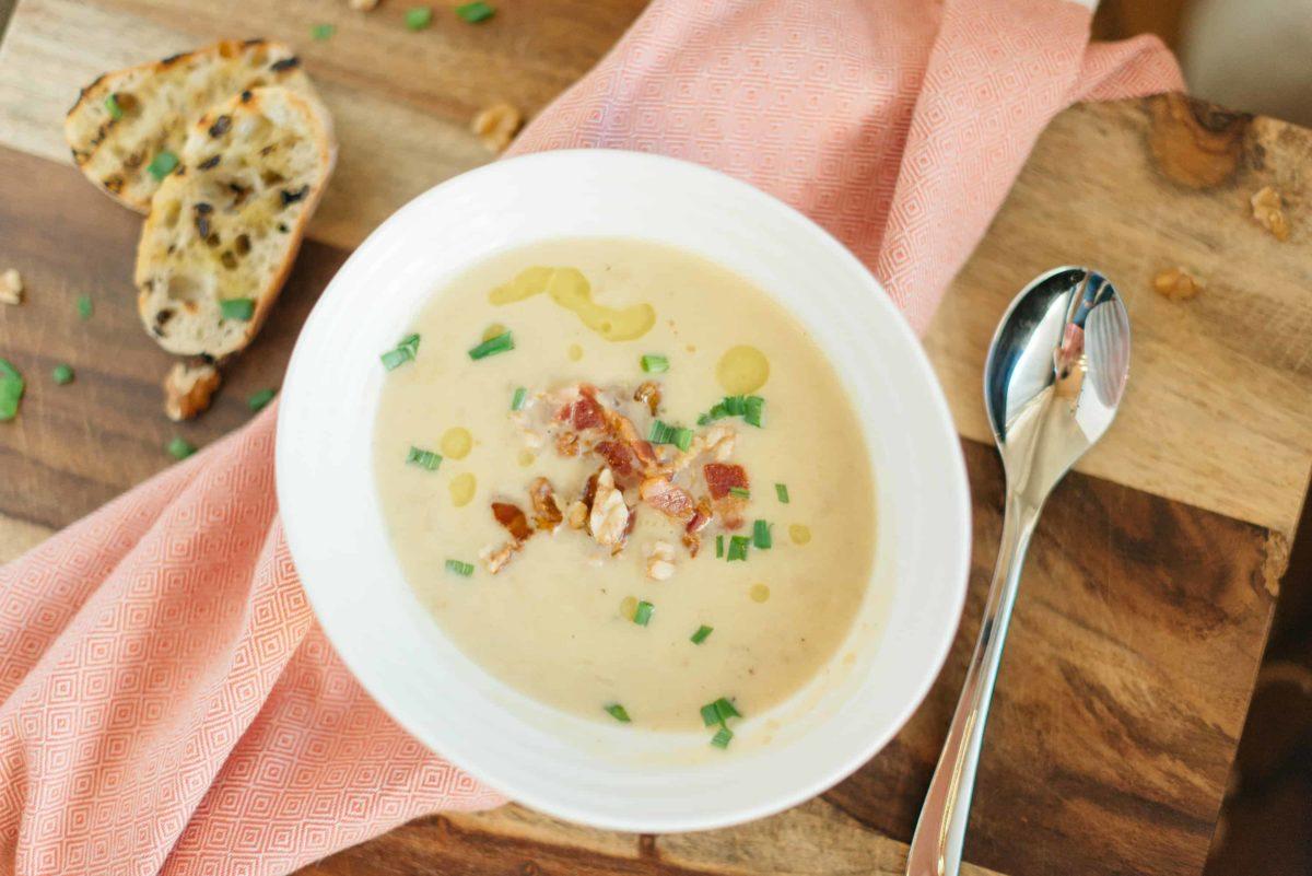Creamy Apple Parsnip Soup Recipe