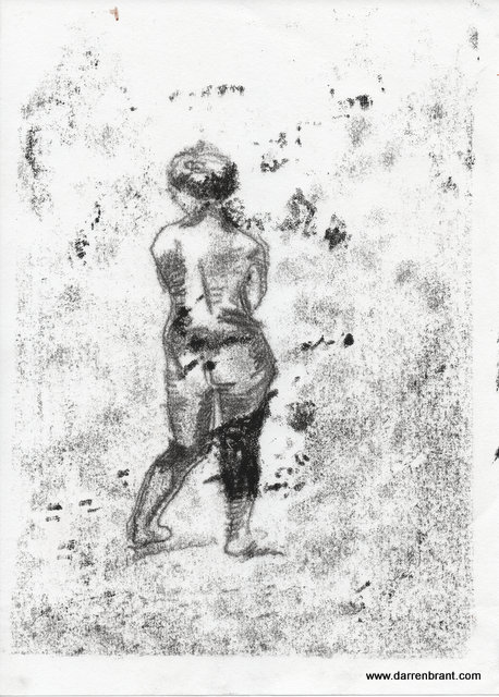 nude female monoprint 2013-04-30