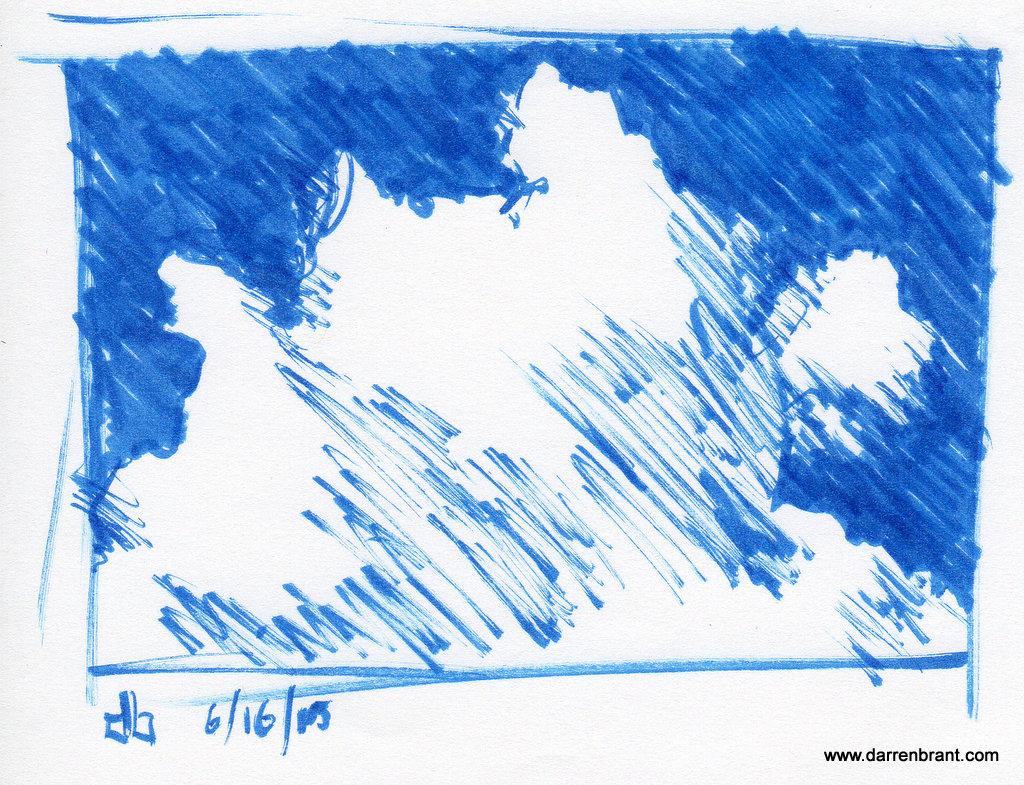 Cloud Study #2 6-16-15 Otterville Ontario
