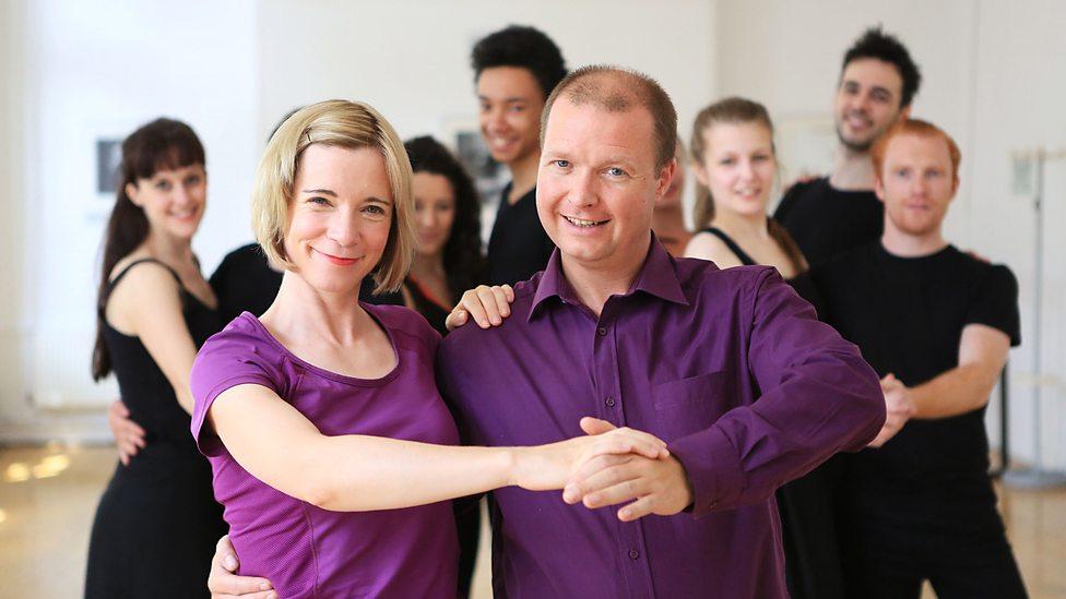 Darren Royston on BBC's Dance Cheek to Cheek