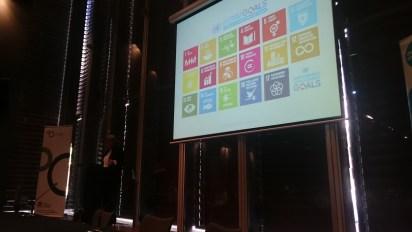 "Sam Mostyn's presentation at ""After Paris"" (own photo)"