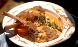 Impressive Veal Chop Recipes Bon Appetit Veal Chops Paprika Cream Recipe Veal Chop Recipes Bone