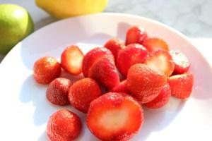 Erdbeeren Zitrone Limone