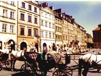Stary Rynek in Warschau