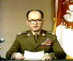 Wojciech Jaruzelski Kriegsrecht Polen 13.12.1981