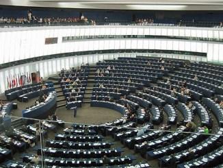 Europäisches Parlament in Straßburg, Foto: JLogan, gemeinfrei